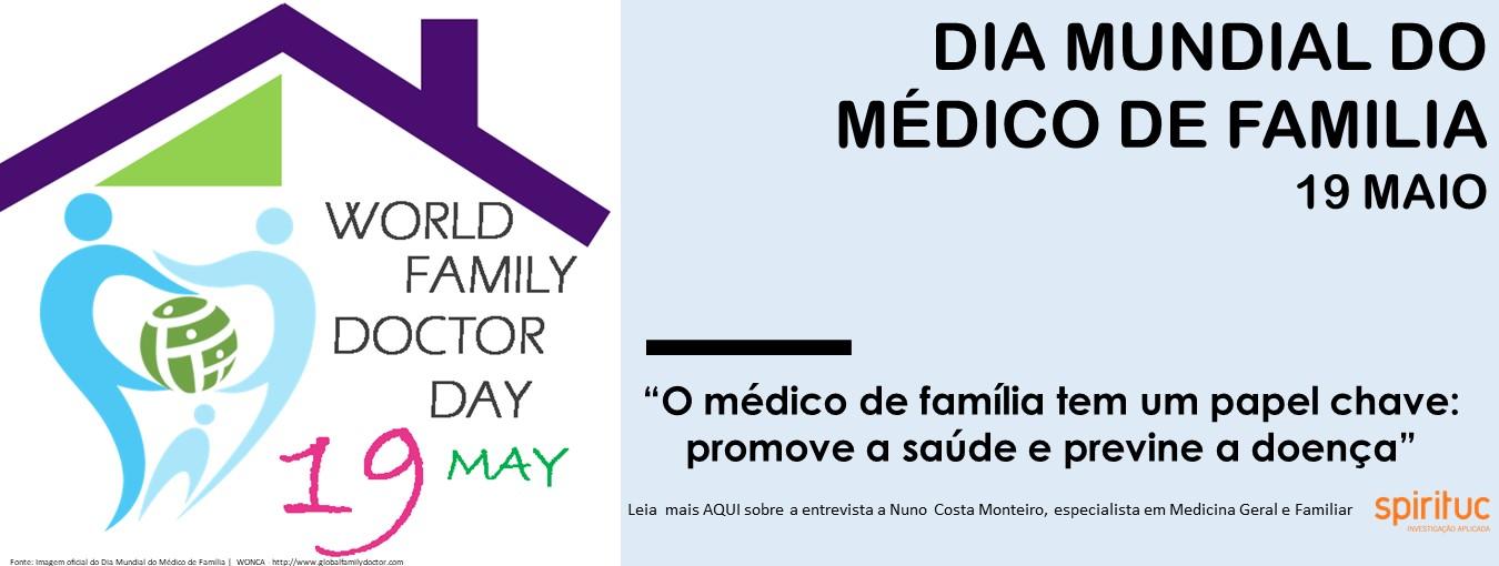 Dia Mundial Médico Familia (19 maio)